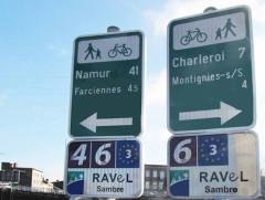 Signalétique EV3 en Belgique