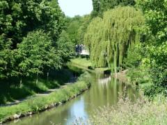 Canal de l'Ourcq à Villeparisis
