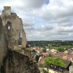 Château des Evêques à Chauvigny
