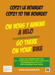 La COP21 oublie le vélo, CyclotransEurope vous y amène