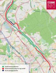 L'itinéraire de la Scandibérique est revu dans l'Essonne