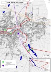 Voir le tracé de l'EV3 dans Fourmies