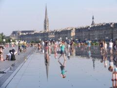 Le Miroir d'eau à Bordeaux