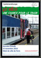 Le vélo, une chance pour le train