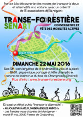 Cyclotranseurope participe à la Transe-Forestière