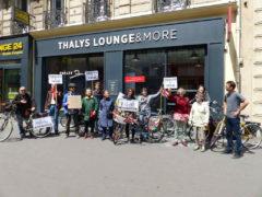 Nous voulons des places vélos dans les Thalys