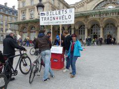Mobilisons nos députés pour voyager en train et en car avec nos vélos