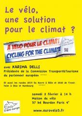 Le vélo, une solution pour le climat ?
