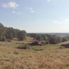 La campagne vallonnée vers Sauvagnac