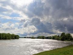 La Loire entre Châteauneuf et Jargeau