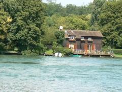 La Seine vers Le-Coudray