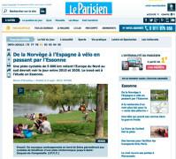 Un dossier du Parisien sur l'Eurovélo 3