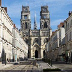 Cathédrale sainte-Croix à Orléans