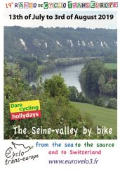 The Seine-valley by bike – from the sea to the source and to Switzerland